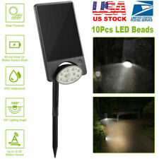 Led Solar Lights Landscape Spotlight Outdoor Lawn Yard Garden Lamp Waterproof