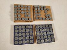 Vintage Acro Hold-Tite Numbering Tacks Window Markers 1-99 Made In USA 1940s