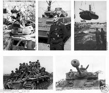 World War 2 1944/45 German Panzer tank photo album on CD high resolution