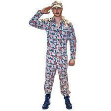 adulte Camouflage CADETS DE L'armée déguisement Taille M Brame nuit Costume