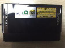 Sony Cyber-Shot DSC-T90 12.1 MP 4X ZOOM Slim Body Digital Camera - Black