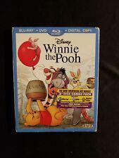 Winnie The Pooh Blu Ray+dvd W/Slipcover No Digital Copy,  A 2.