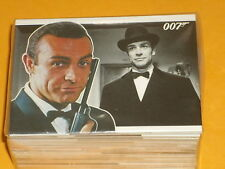James Bond 'Heroes & Villains' Complete Base Set Of 81 Trading Cards Cult Movies
