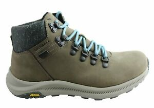 Merrell Womens Ontario Mid Waterproof Comfortable Hiking Boots - Leather