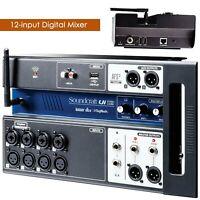 Soundcraft Ui12 12-input Remote-Controlled Digital Mixer PC Smartphones - UC