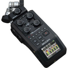Zoom H6 All Black 6-track Portable Recorder - ZH6AB