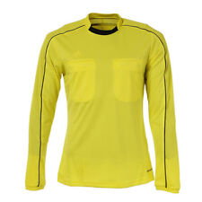 Men's Adidas Referee 16 Climacool Yellow Soccer Jersey Size M Long Sleeve NWT