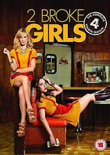 2 Two Broke Girls Complete Series 4 DVD All Episode Forth Season Original UK NEW