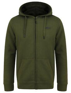Navitas Green Mens Sherpa Zip Hoody Hoodie Hood *All Sizes* NEW Carp Fishing