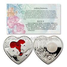 China 2019 Valentine Panda 1 oz Silver Proof with COA SKU# 7066