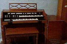 Vintage Hammond Organ & Bench Model T-112 ~ Leslie Speaker Model 120 ~ Nice!