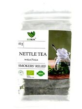 SMOKERS' RELIEF 100% Organic NETTLE Loose Leaf Tea Bio Infusion Urtica Dioica UK