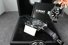 NEW U-Boat Classico AB Black Ceramic Case Automatic Watch MSRP 3600.00
