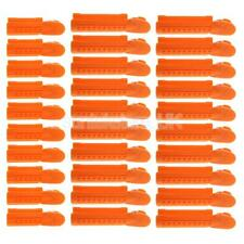 30pcs Plastic Salon Hair Pin Curly Clips Section Pinning Curling Grips Kit