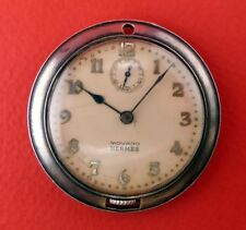 VINT MOVADO HERMES CHRONOMETER OPEN FACE pocket watch Swissmade NORESERVEPRICE@@