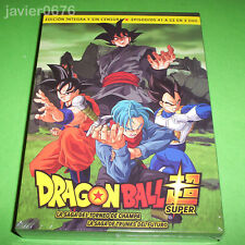 DRAGON BALL SUPER BOX 4 SAGA TORNEO CHAMPA - TRUNKS FUTURO DVD NUEVO PRECINTADO