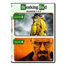 Breaking Bad: Season 3 and 4 (DVD, 2015, 8-Disc Set) NEW