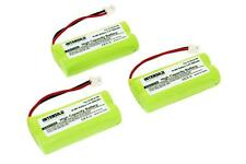 INTENSILO 3x BATTERIE 800mAh pour Siemens Gigaset AS150 TRIO / AS160