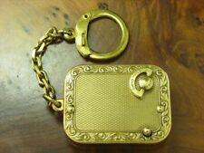 Reuge Miniatur Spieluhr mit Walzenspielwerk / vergoldet / 49,6g