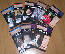 Set of 7 Books Biography Hard Cover Glossy Color Illus School Homeschool Gr 5-7