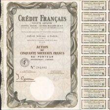 CRÉDIT FRANÇAIS (T)
