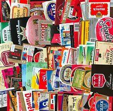 BELGIUM - Lot of 100 beer labels from BELGIUM!!! VERY NICE A763