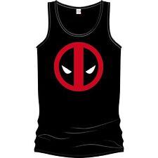 Deadpool - Logo Tanktop Black Canotta Unisex Tg. L IMPORT