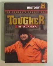 history channel  TOUGHER IN ALASKA the complete season one 1 first DVD steelbook