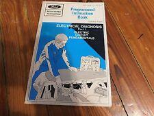 Nos 1971 Ford Mustang Torino Electrical Circuit Fundamentals Service Shop Manual
