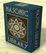 MASONIC LIBRARY 464 books on DVD + 251 hi res images! FREEMASONRY FREEMASONS