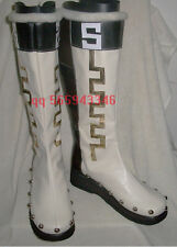 Dynasty warriors 6 Guan suo Long Cosplay Boots S008