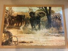 """AUTHENTIC ARTAGRAPH OIL PAINTING""""SHOW OF FORCE""""BY ROBERT KUHN SIGNED # 72/1000"""