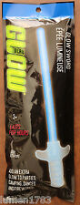 """GLOW SWORD HALLOWEEN EASY TO USE GLOWS FOR HOURS 10"""" LIGHT SABER STAR BLADE FUN"""