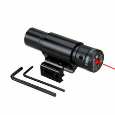 Tactical Red Laser Lazer Beam Dot Sight Scope Mount Gun Rifle Pistol Hunting
