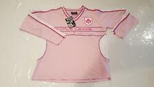 Reebok NHL Women's Toronto Maple Leafs Pink Jersey Large L