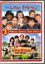 The Little Rascals & Save The Day 2-Movie Family DVD Double Feature BRAND NEW