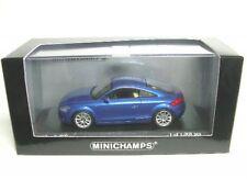 1/43 Minichamps Audi TT 2006 azul metalizado