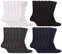 6 Pack Kid Boys Girls Back to School Socks Black,White,Grey & Navy Various Sizes