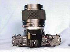 OLYMPUS OM-4 BLACK + ZUIKO 90mm F2 MACRO LENS GREAT SET