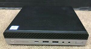 ⭐ HP EliteDesk 800 G3 DM i7 3.6GHz 8GB RAM 256GB HDD Windows 10 Pro ✅❤️️