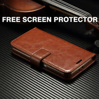 Luxury Leather Flip Case Wallet Cover For Motorola Moto G5 G5+ G5S G6 E3 E4 C