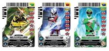 POWER RANGERS CARD GAME ACG SET 2 : GUARDIANS OF JUSTICE COMPLETE SET NO UR