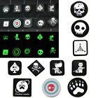 10PCS/ Lots Tactical Badge Patches JTG Ill Gear Tad Surefire EDC Noctilucent HOT