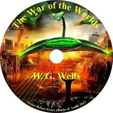 War of the Worlds, H. G. Wells Sci-Fiction Audiobook English unabridged 1 MP3 CD