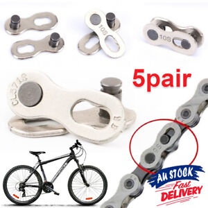 Quick-Chain Master Link Single Speed Bicycle Links For Cycling Connector Spare
