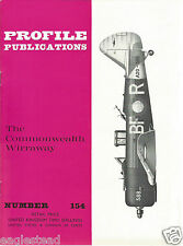 Aircraft Monograph - Commonwealth - Wirraway - Profile Facts Summary (MN59)