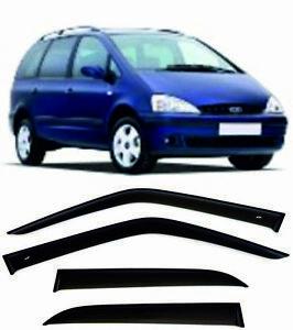 For Ford Galaxy l 1996-2006 Window Visors Sun Rain Guard Vent Deflectors Shades