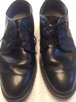 Bates Oxford Black Dress Men's Shoe 968A Size 9.5 E Vibram Long Wearing