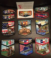 CIRCLE TEN COUNCIL MIKANAKAWA LODGE 101 (O.A.COMPLETE 2015 NOAC SET)