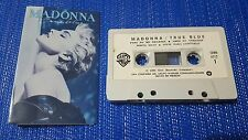 MADONNA **True Blue** ORIGINAL 1986 Mexican Cassette NO PROMO LP CD